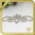 FRA-093 Hot sale Handmade AB Color Applique Rhinestone for garment