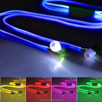 Hot Sell LED Light Earphone EL