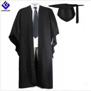 UK Fluted Bachelor Graduation Gown With UK Cap