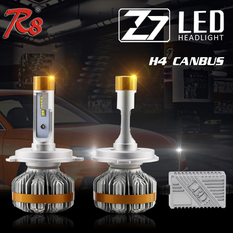 High Quality Z7 LED Headlight 60W 7000 Lumen H4 H13 9004 9007 Canbus Auto LED Headlight