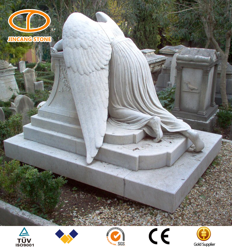Hot sale cheap weeping angel headstone