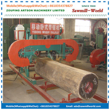 Forest Bandsaw Portable Band Saw Mill Horizontal Wood Sawmill