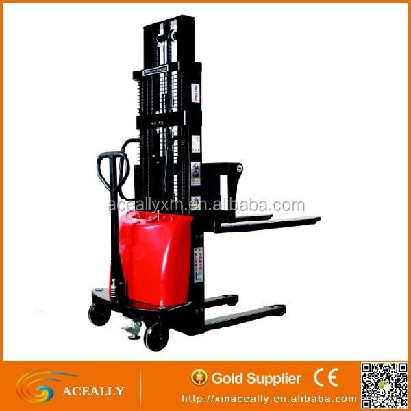 High Lift Pallet Truck Semi Electric Forklift