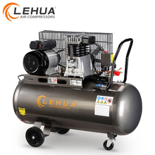 Gasoline diesel cng portable portable gas air compressor for sand blasting