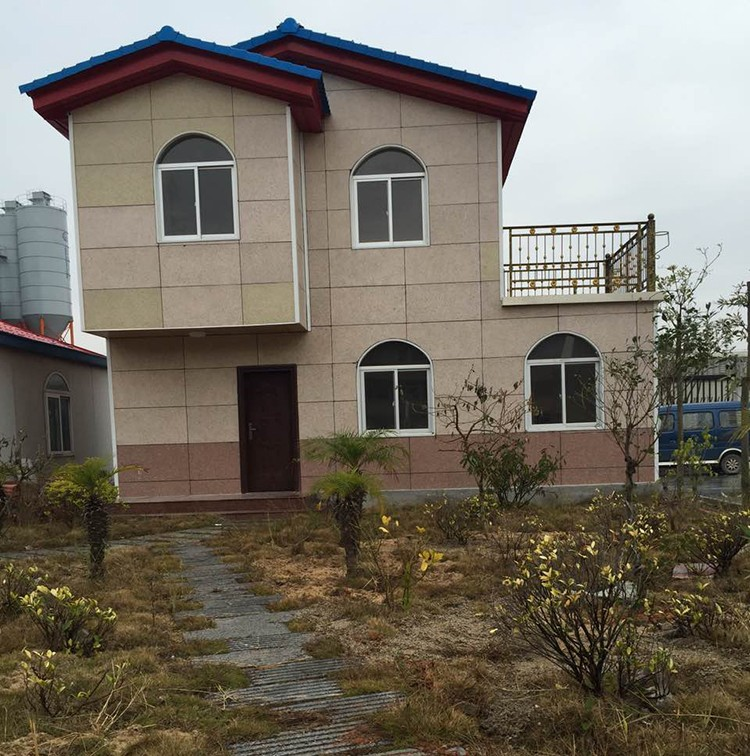 Low cost mobile luxury prefabricated houses home prefab villa made in china