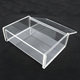 Clear Acrylic Pen Lighter Cigarette Case Name Card Holder Display Stand Box with Lid
