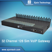multi port gsm sim box 32 port 128 sim cards voip gateway sim bank goip with free sever system
