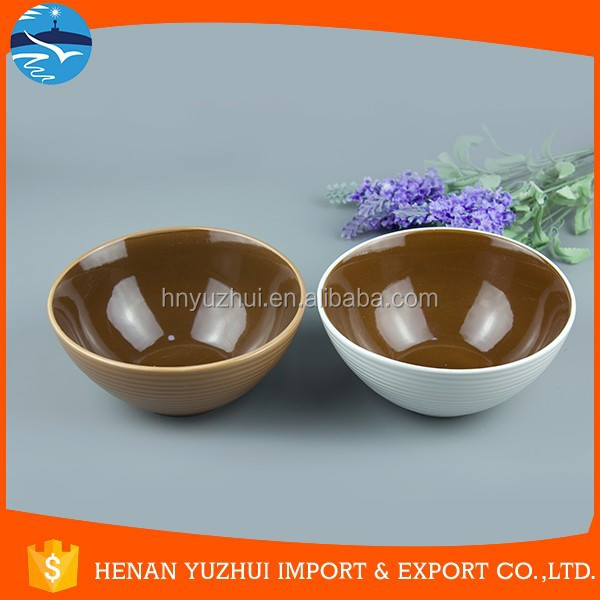 best selling products Customized ceramic fruit flower bowl