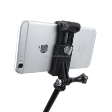 New Gopros shaft assembly cell phone holder, mobile phone clamp, gopros accessories GP321