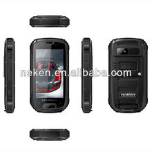 MTK6589 1.2GHz Quad core Android 4.2.2 Dual SIM Card dual Standby 1GB+4GB Gorilla glass s09 rugged android phone