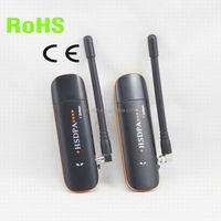 7.2Mbps huawei usb 3g modem with external antenna