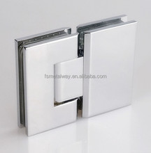 Brass Shower Screen Hinge,Brushed Glass To Glass Shower Hinge