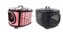 Wholesale Bubble breathe freely soft side airline approved outdoor pet bag, traveling cat dog carrier fold fabric bag