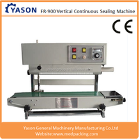 FR900 Vertical Type Continuous Band Sealer Machine