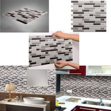 Promotion cheap price self adhesive mosaic backsplash kitchen art 3d peel and stick wall <strong>tile</strong>