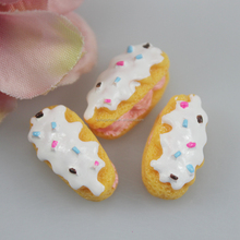 Food Hamburger Resin Food Cabochon Cake Charms Made Out of Polymer Clay Flat Back China Wholesale