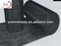 High Quality Black Wire Cloth/Black Iron Wire Mesh For Air/Liquid Filter