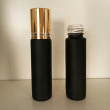 Factory price Roll on black glass botlle perfume roll on glass bottle 1ml 2ml 3ml 5ml 8ml 10ml 15ml 30ml 50ml
