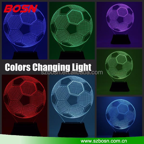 LED RGB Acrylic 3d light