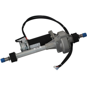 best quality electric car drive rear axle 24v dc gear motor