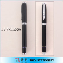 high quality luxury gold fountain pen black metal pen