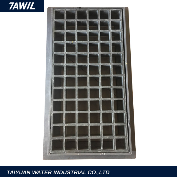 Ductile iron and gray iron open gully trap building materials
