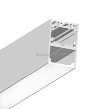 supermarket shelf shop fitting led linear lighting aluminum extrusion profile with 32.5mm width light bar channel