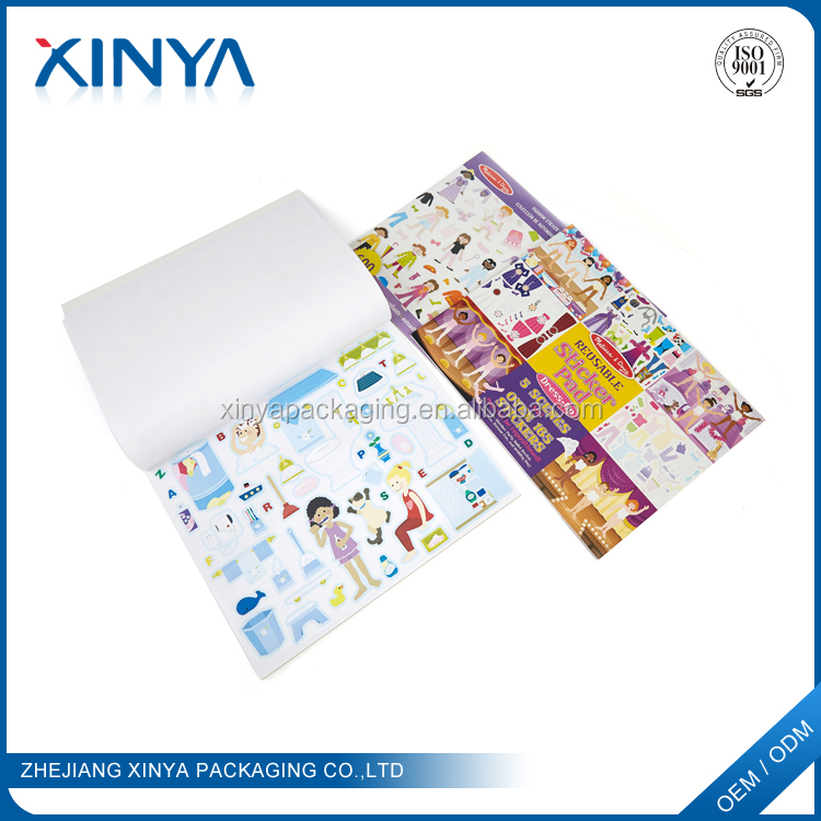 XINYA Chinese Products Sold Children Handmade Funny Sticker Book