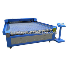 AOL-1325 high accuracy computer embroidery printed fabric laser cutting machine with CCD camera