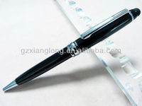 SC2035B 2in1 Touch Screen Stylus with Metal pen of Ball pen for lacquer finishing can make your logo promotional gift metal pen