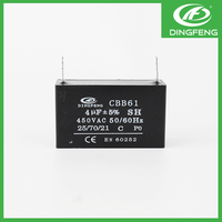 Best sales ac motor fan electrolytic cbb61 8uf capacitor