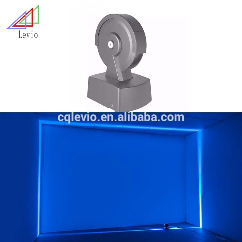Tenda 360 gradi IP65 dmx rgb commerciale led finestra trucco light Wall Mounted DMX RGB 360 Gradi Led Graphic Finestra lampada Trucco