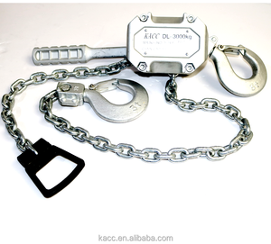 KACC Chain Hoist 3 Ton Chain Block Hoist Ratcheting Lever Block Chain Hoist with Puller