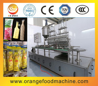 Rotary small plastic tube/ice freeze pops/ice fruit juice filling sealing machine