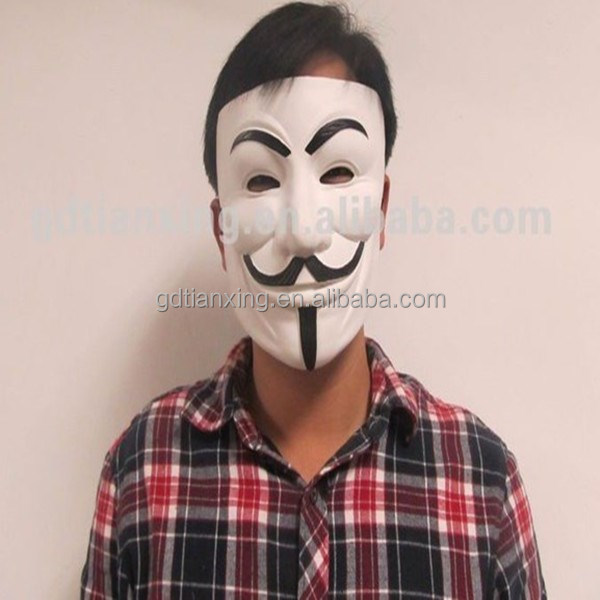 V for vendetta mask for sale/Halloween mask factory