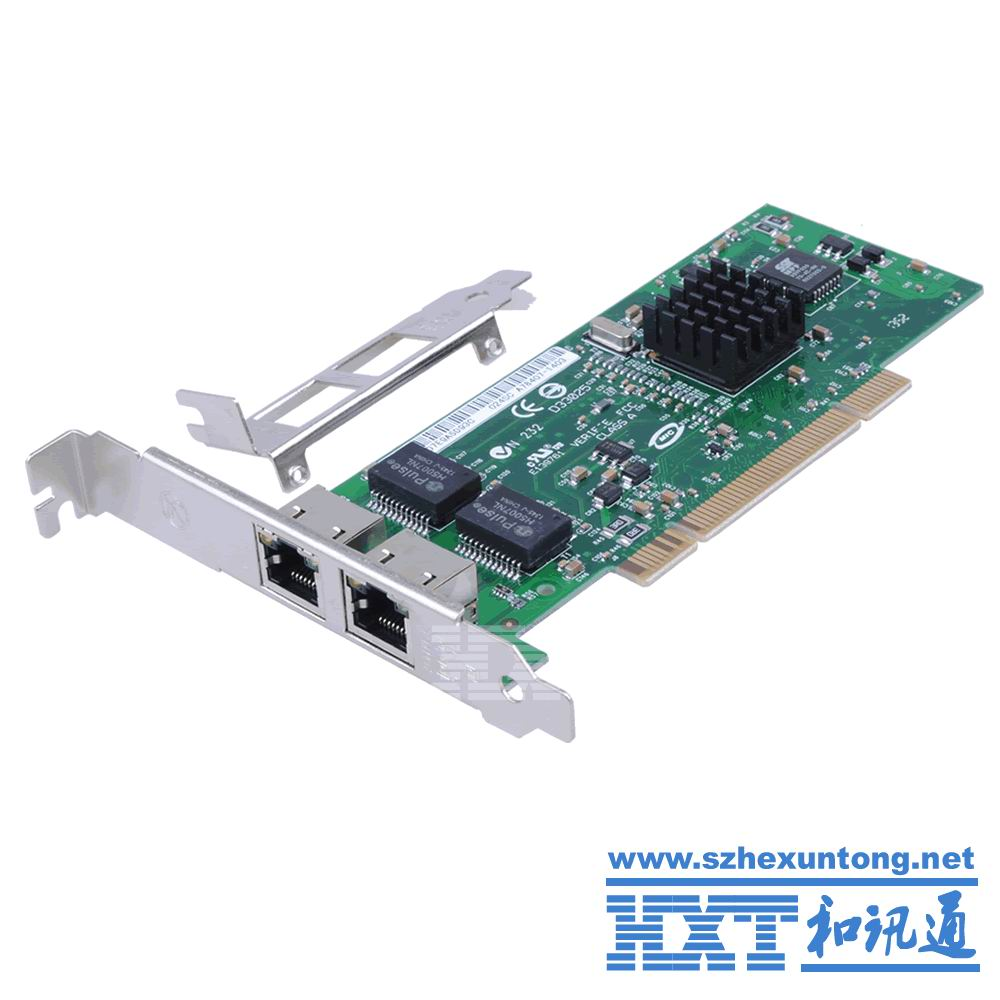 82546GB 8492MT Chip 2 Ports RJ45 Lan Card Double Mouth PCI 10//100/1000M Gigabit Ethernet Network PCI LAN Card