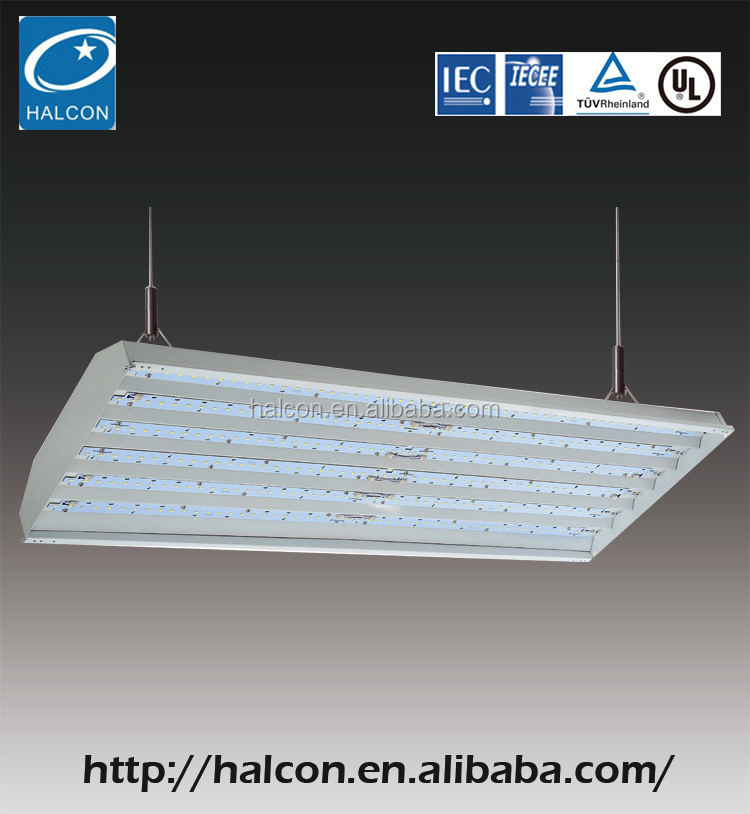 Hook Hanged Led High Bay Lamps 15600Lm High Bay With Light Ul Dlc Certified Cul