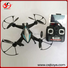 Hottest toy 2.4G headless mode rc quadcopter intruder ufo drohne with lights.