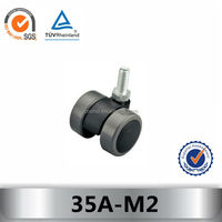 SZCF adjustable funiture caster 35A-M2