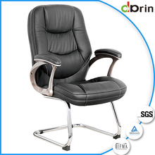 Latest modern soft leather office chair without wheels