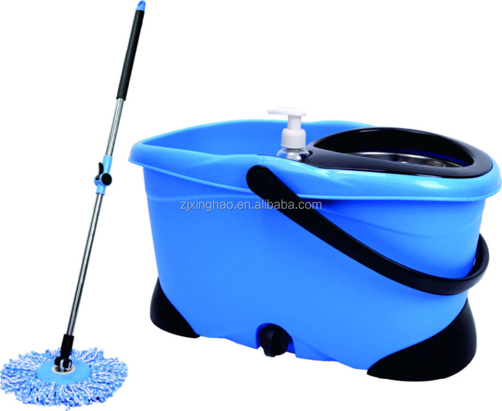 2017 ceiling cleaning mop and bucket,magic mop 360