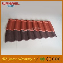 Guangzhou Wanael Milan Stone Coated Metal Roof, French Roof Tile