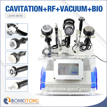 HOT!!! cavitation vacuum RF BIO slimming machine cavitation power 100w