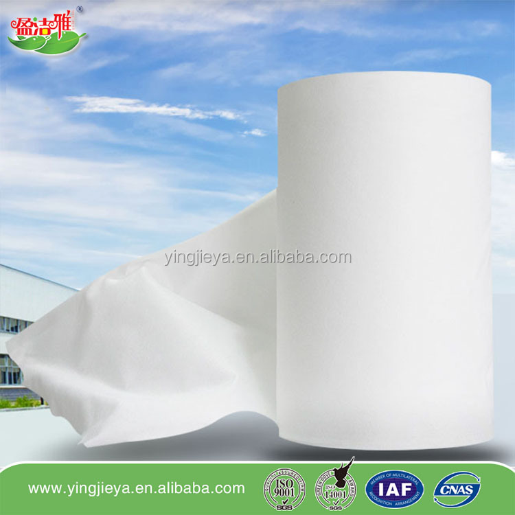 Viscose Polyester Material Best Quality Multi-Purpose Spunlace Nonwoven Fabric For Wet Wipes