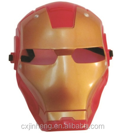 High Quality Cosplay The Avengers Spider Man Iron Man Hulk Batman Captain America Super Hero Masks