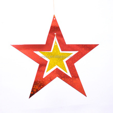HOT hanging paper star paper hanging Birthday/party/wedding/christmas/ decoration elegant