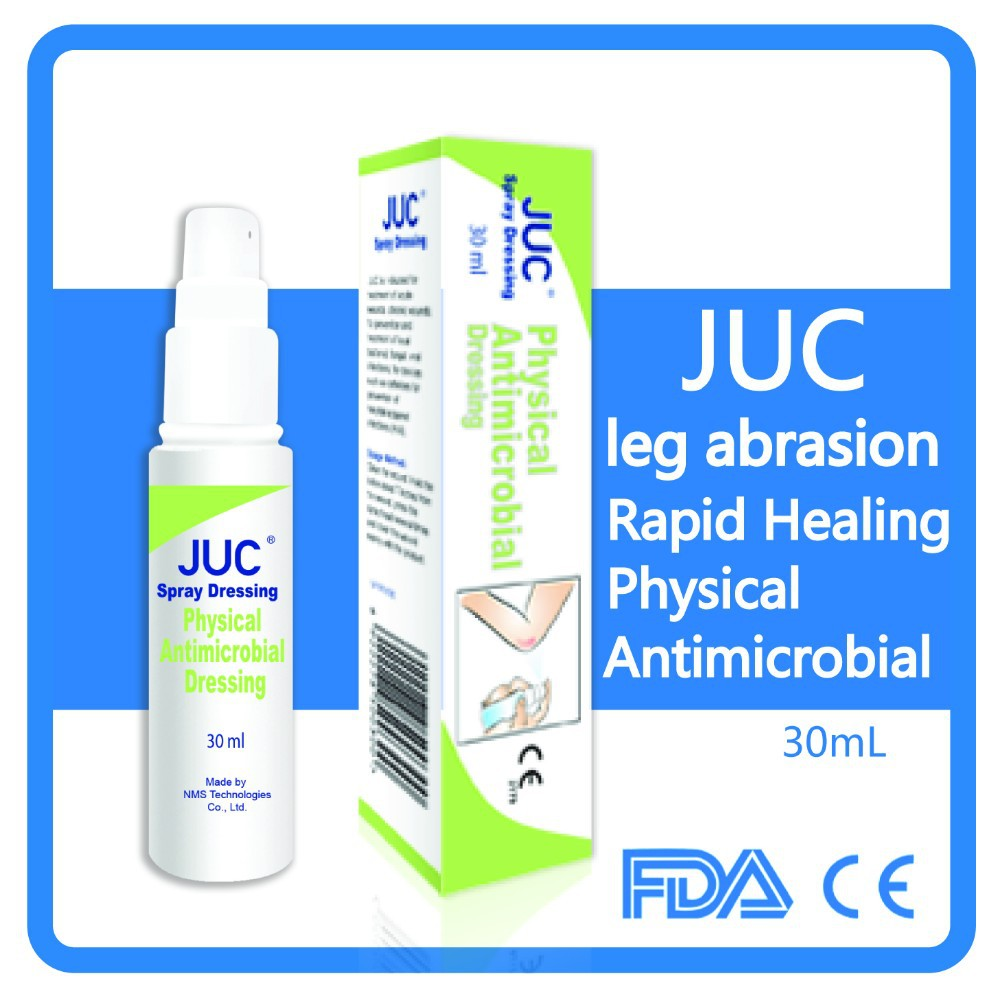 physical antimicrobial dressing for leg abrasion, promote healing and prevent from infection dressing