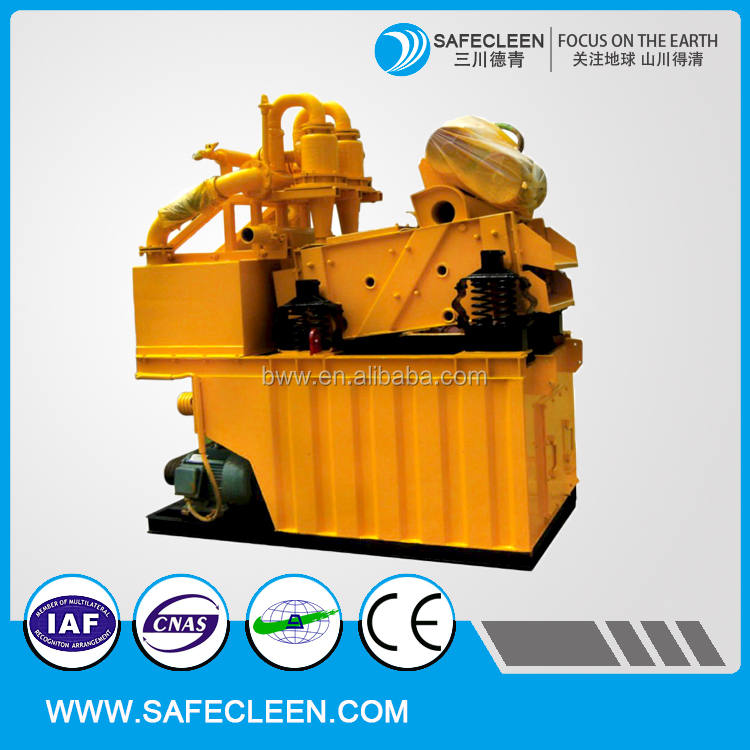 ZX-50 hydro cyclone desander mud recycling system for construction machinery