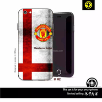 football club Design Your Own UV Sublimation Custom Printed PC TPU Phone Cover for iPhone 6 6S Plus, 3D Phone Case printing