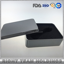 aluminium boxes e-liquid packaging 30ml glass bottle with dropper